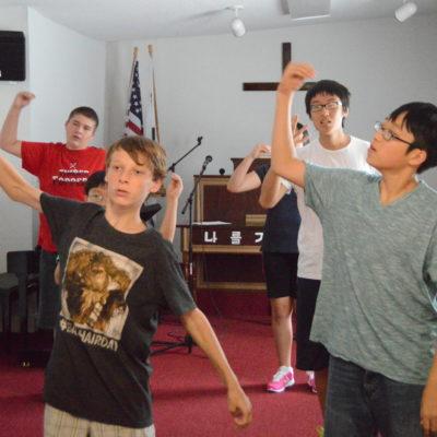 The Korean church and WAVE Team