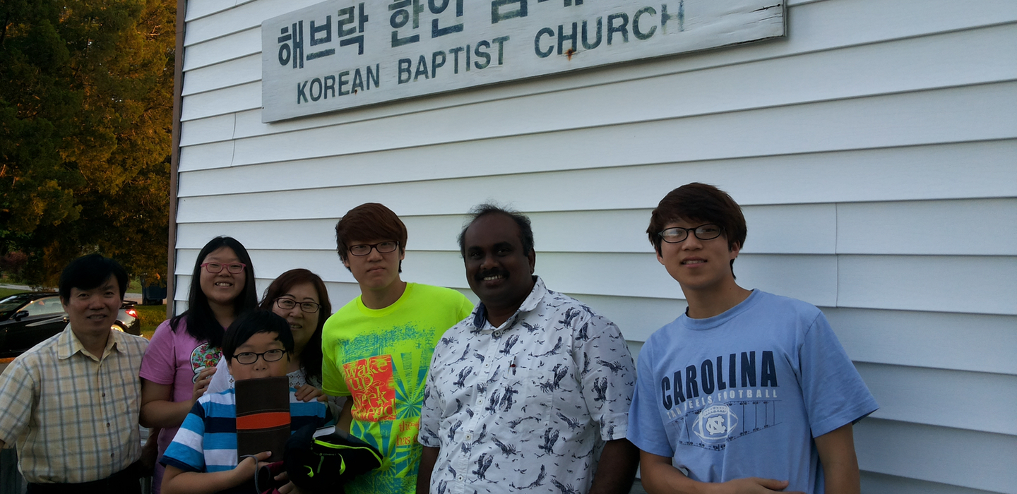 Korean church slider